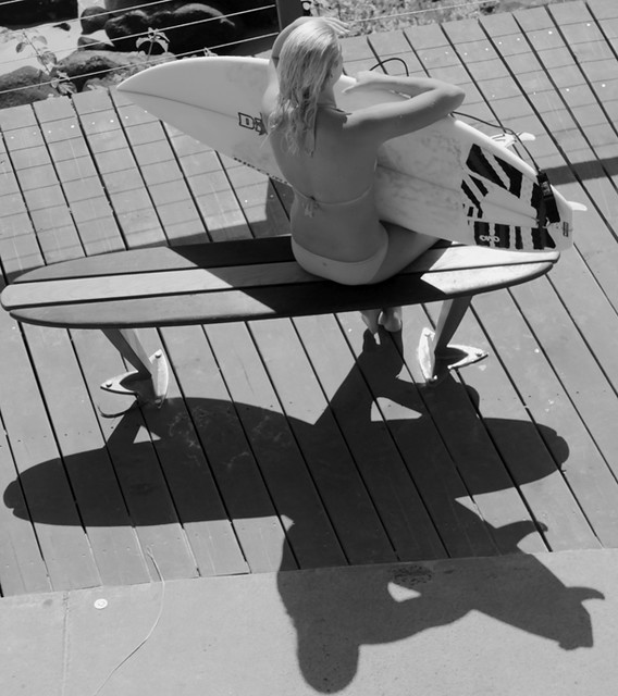 Surfie Chick - greenmount point