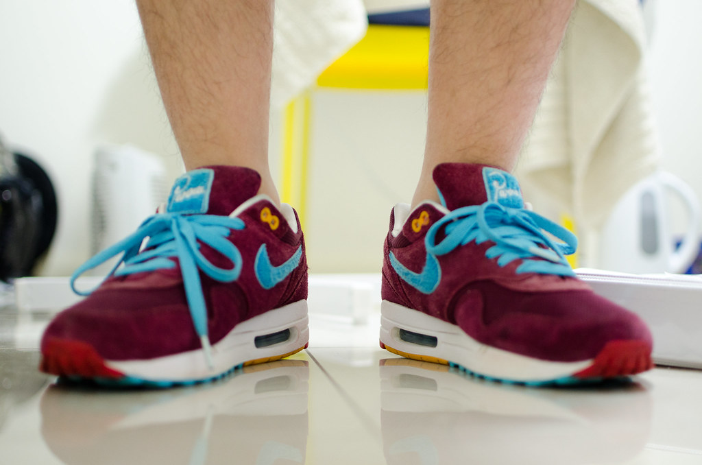 new list discount sale new styles Nike Air Max 1 Parra x Patta burgundy Tier ZERO | I got it f ...