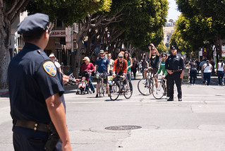 06911 Police staredown on 24th St. at Folsom | by sfbike