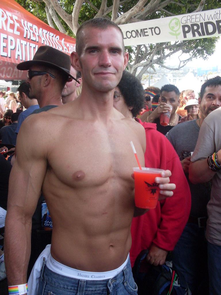 Kaleb Hayes (porn star) @ L.A. Gay Pride 2009 | Even porn
