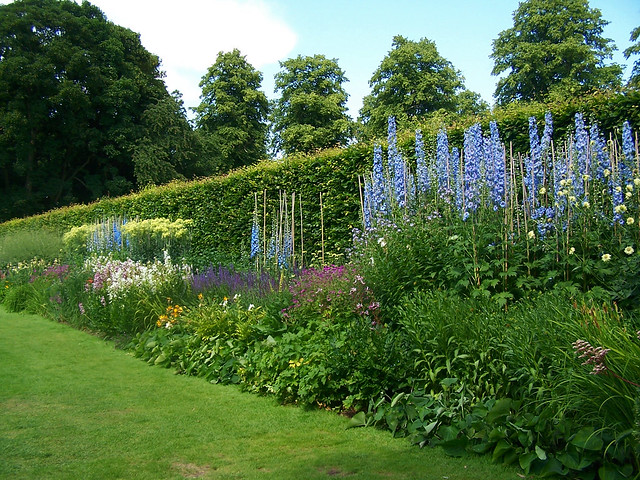 The Herbaceous Garden at Anglesey Abbey