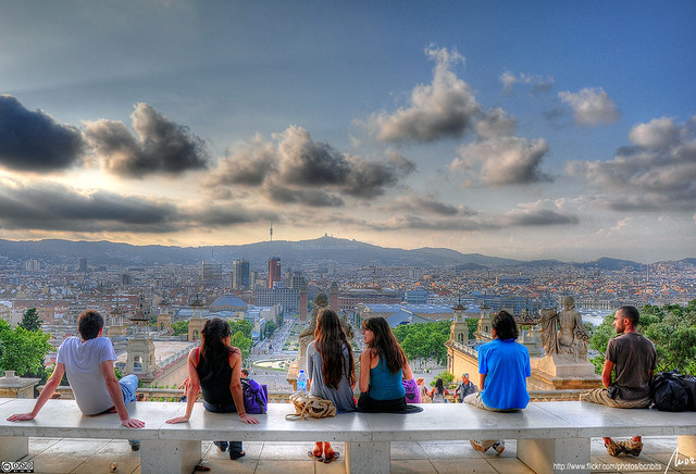 enjoy the view - Barcelona - HDR