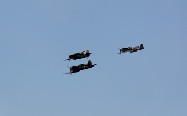 Warbirds in formation - #2693