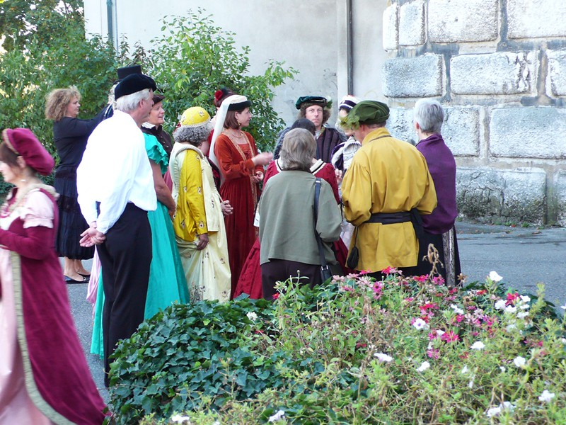 Group middle aged dressed, Solothurn