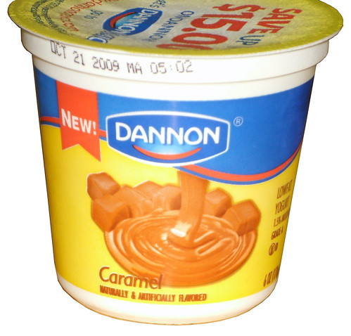 Dannon Caramel Yogurt | by theimpulsivebuy