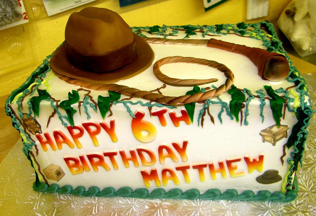 Phenomenal Indiana Jones Birthday Cake Sweet Confections Cakes Flickr Funny Birthday Cards Online Inifodamsfinfo