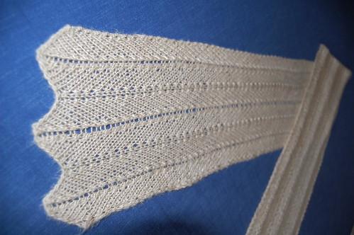 Silkeskjerf / Silk scarf detalj