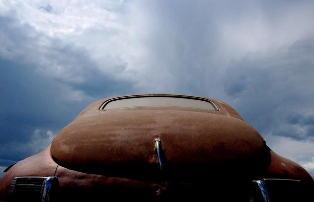 Storm over Packard Clipper