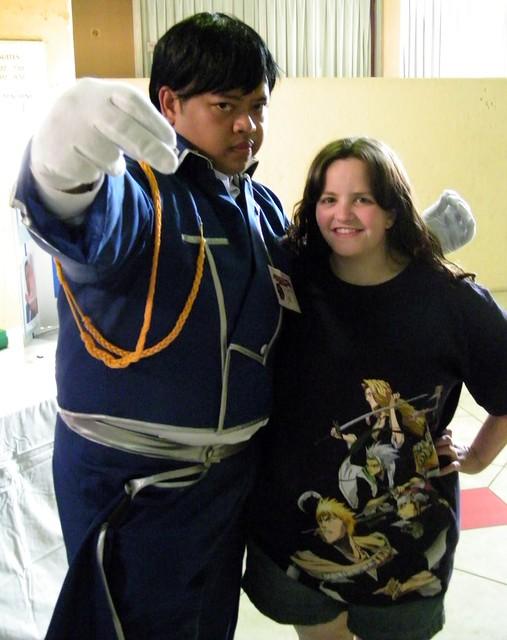 Roy Mustang Cosplayer & Erica @ PersaCon '09