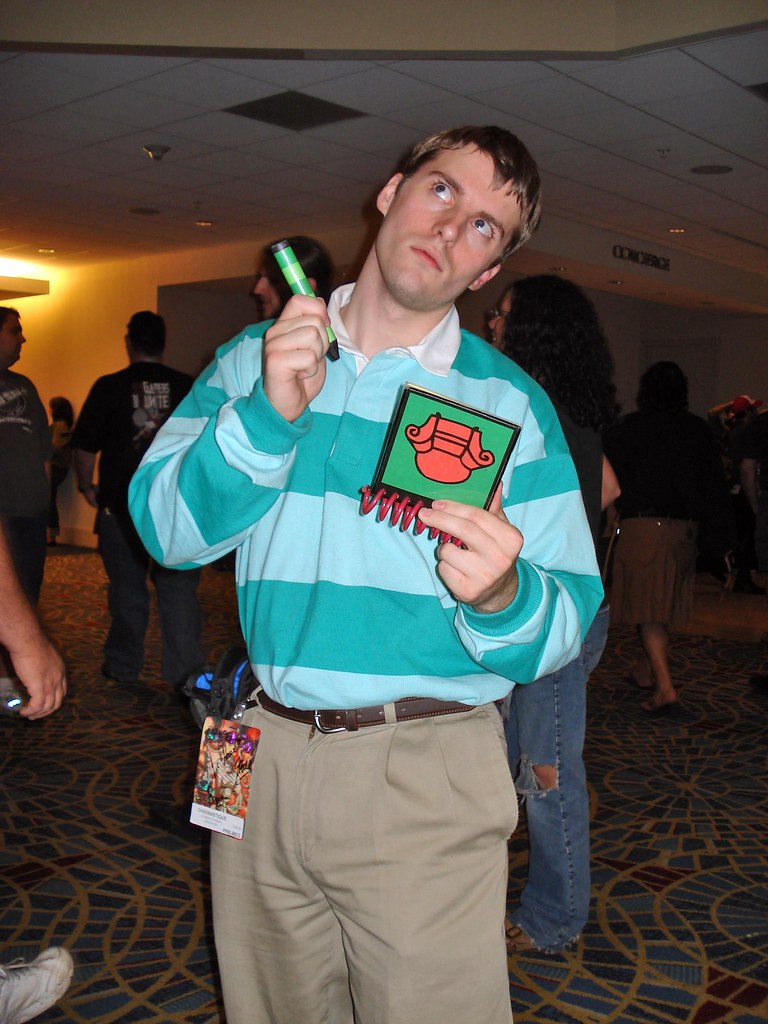 Blues Clues Steve How Awesome Is Dragoncon That You See Pe Flickr
