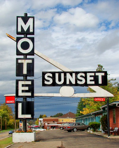OH, Athens-U.S. 33(Old) Sunset Motel Sign | by Alan C of Marion,IN