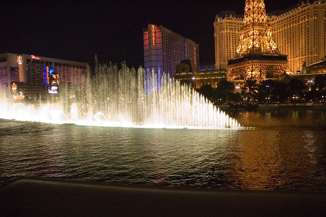 The Bellagio Fountains, Las Vegas