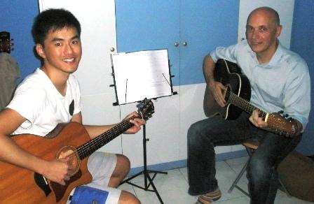 Guitar lessons Singapore John Kilshaw