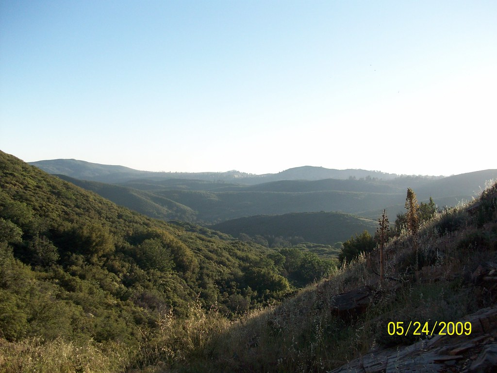 Indian Creek Trail View | north of Pine Valley San Diego ...