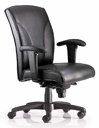Classic leather ergonomic chair | by Kare_Products