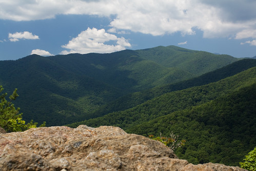 blue sky mountain rock clouds nc northcarolina montreat buncombecounty davidhopkinsphotography