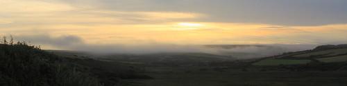 uk cloud mist wales sunrise geotagged pembroke newgale newgalesands aspect164
