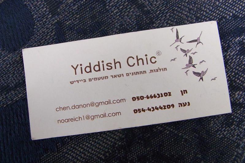 Yiddish Chic