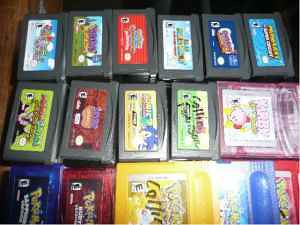 Pokemon gameboy color $10 each,GBA games(Mario,Spyro,Sonic