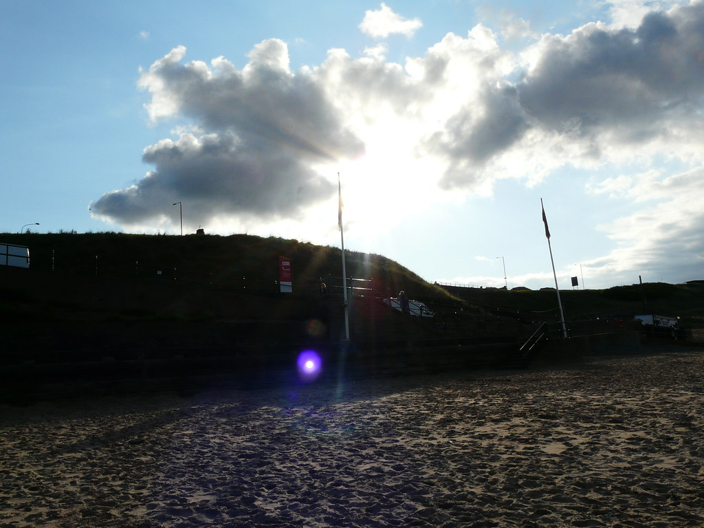 From the beach to the sky at Tynemouth