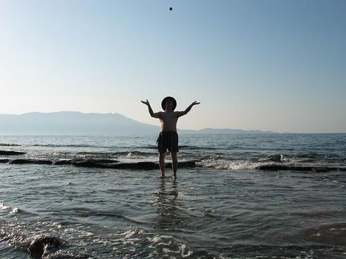 Ball Watching - North West Crete - Sept 2007