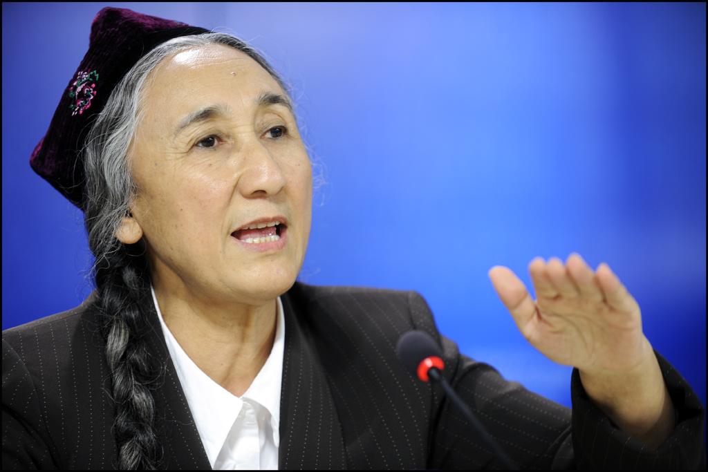 Rebiya Kadeer, présidente honoraire du Congrès mondial des Ouïghours