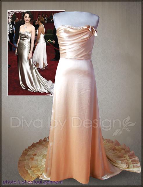 Vintage 40s Wedding Dresses Vera Wang Bridal Inspired Gown