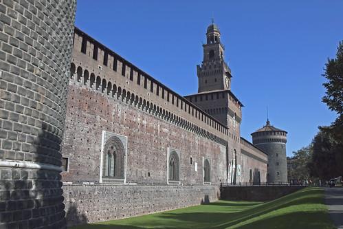 Castello Sforzesco - Milano | by Eric Borda