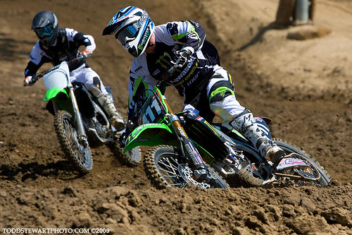 Tyla Rattray and Christophe Pourcel