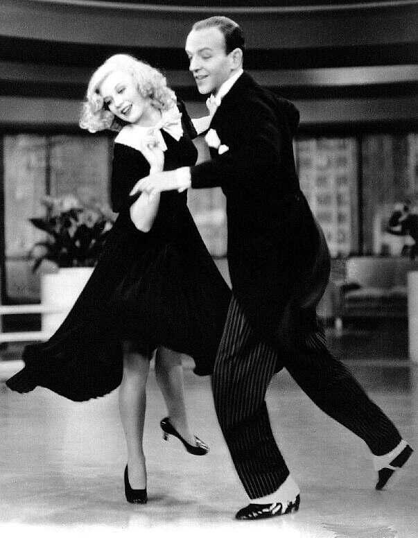 Ginger Rogers Fred Astaire In Swing Time Lana E Flickr