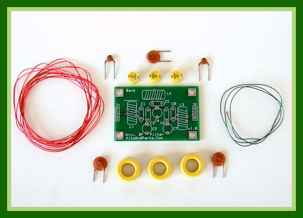 Speech Filter Circuit Band Pass Filter Circuit