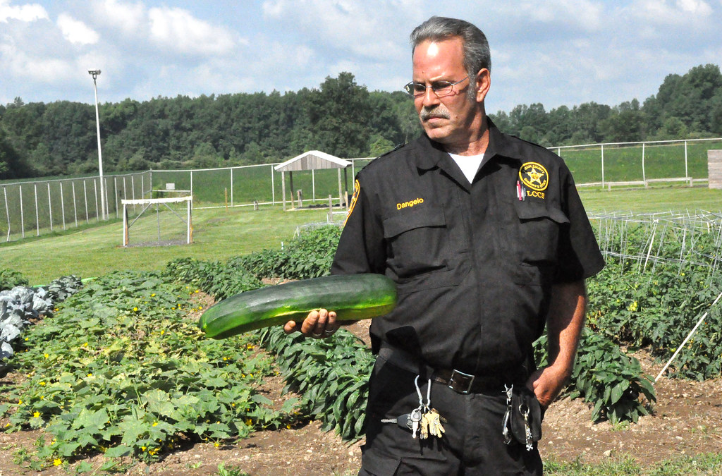 Inmates' garden at Lorain County Jail | Corrections officer