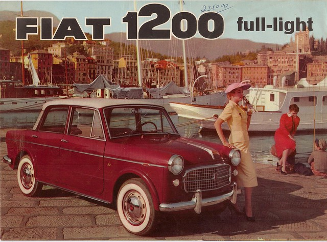 FIAT 1200 brochure from 1958
