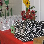 Gift Bags and Lady Bugs