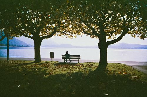 Sack kraulen | Zug, Switzerland Lomo LC-A | Agfa CT