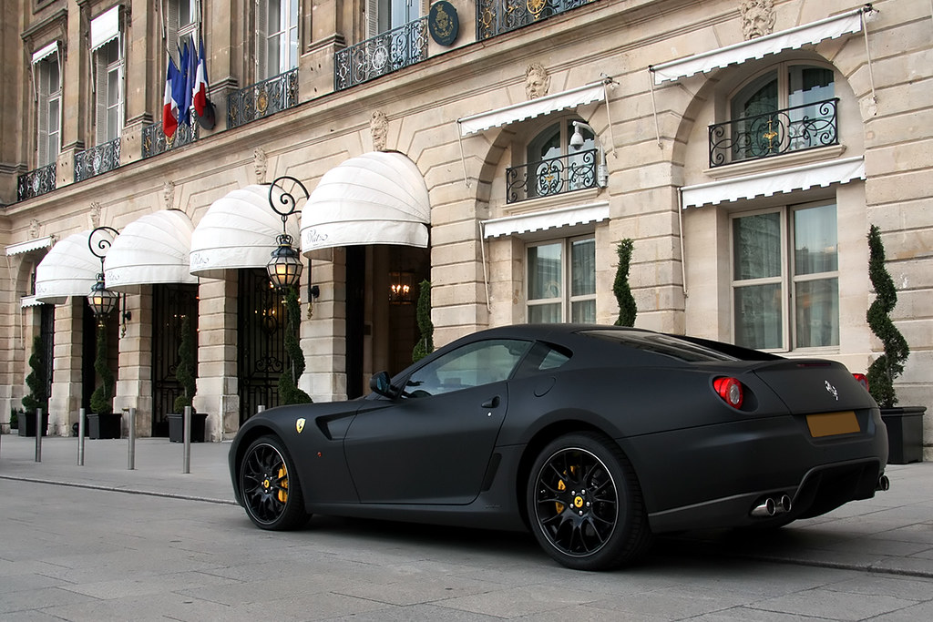 Ferrari 599 Gtb Fiorano Matte Black Matte Black Www Alex Flickr