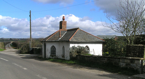 The Toll House, Muchelney, Somerset. Late 18th century or early 19th century.