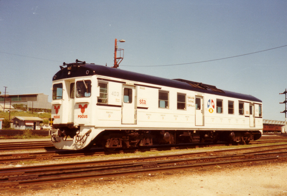 Red Hen 403 in Adelaide Festival of Arts livery, 1980's by baytram366