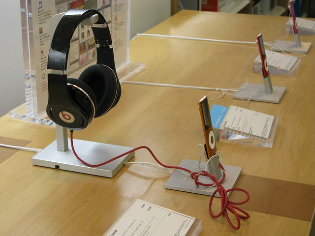 beats by Dre @ 涉谷蘋果專門店| beats by Dre at Apple Store