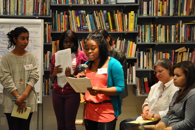 Girls Write Now Slam Poetry Workshop, November 2009
