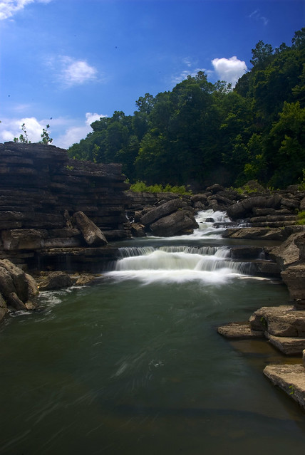 Rapids, Rock Island State Park, White Co, TN