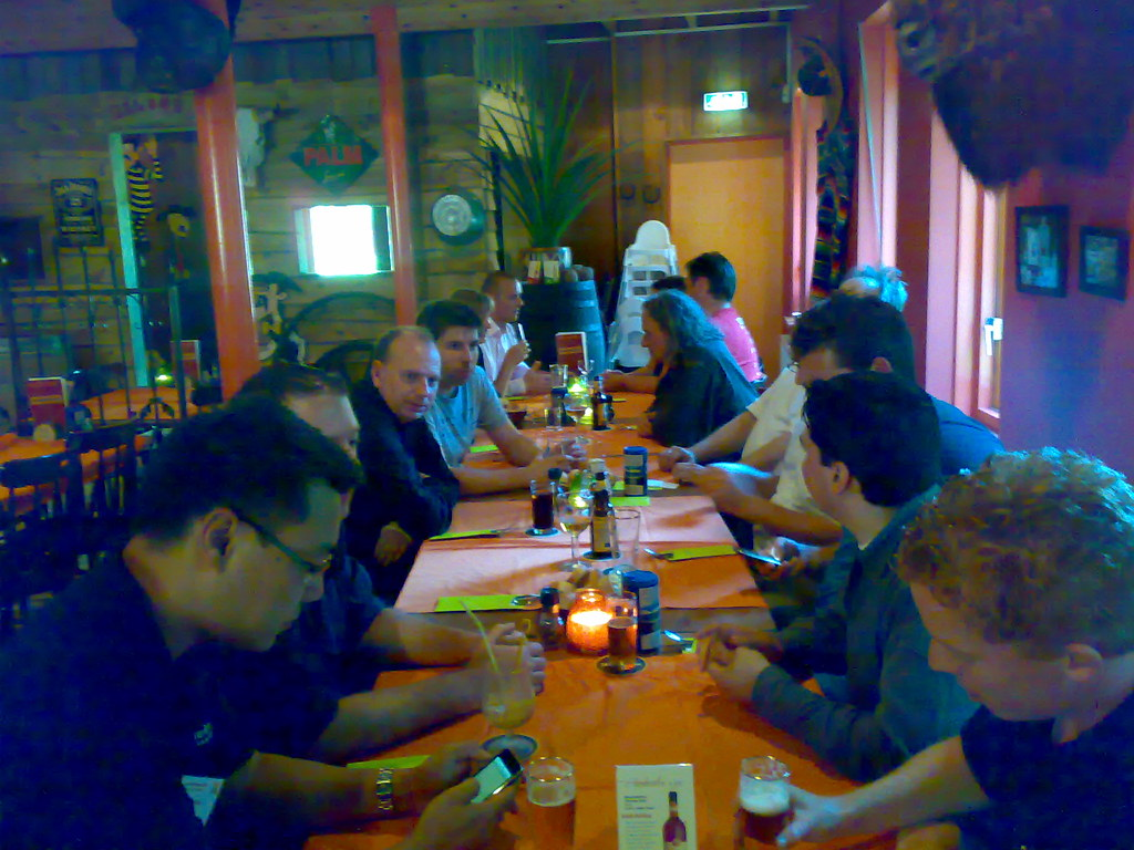 Dinner after Joomladay 1
