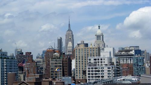 New York Skyline   by Frank Gruber