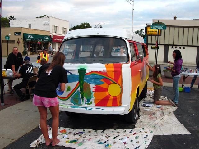 Westmont Paint A VW van