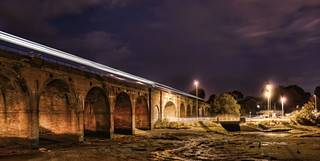 Fareham Viaduct with Train | by Hexagoneye Photography