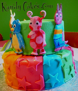 BackYardigans Birthday Cake by Kandy Cakes | by Leeroy Rokkenrohl