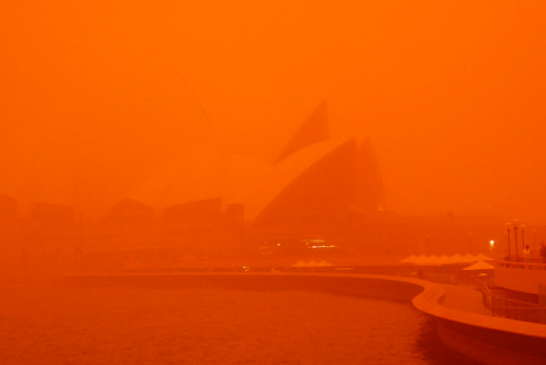 Dust Storm - Opera House | by NSW Maritime