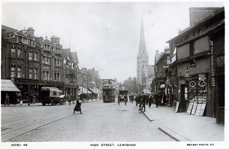 Lewisham High Street, Early 20th century
