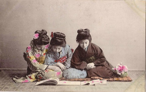 pc japan,women reading abt  l900 | by janwillemsen