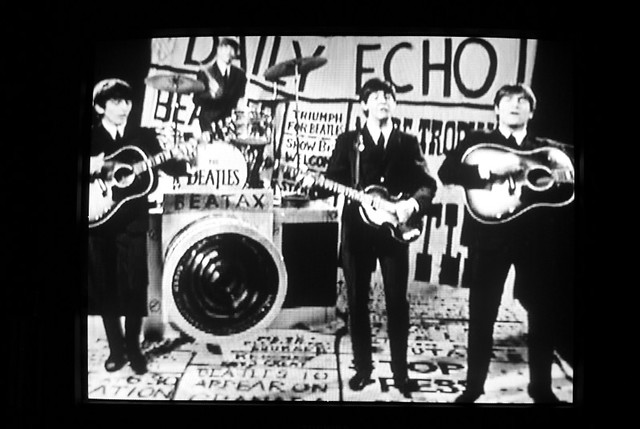 Beatax | Beatles image from the Beatles Anthology 1, playing